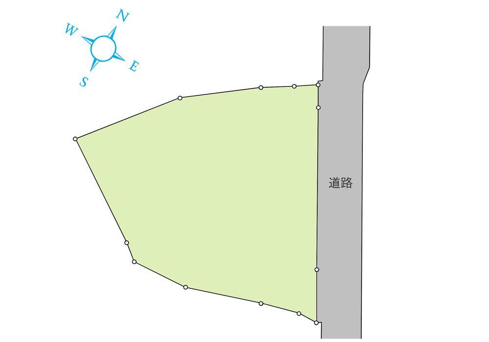 土地価格1635万2000円、土地面積386.15m<sup>2</sup>