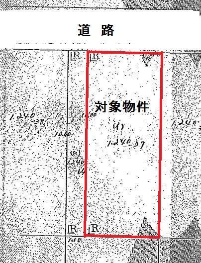 土地価格300万円、土地面積132.23m<sup>2</sup>