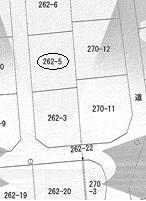 土地価格550万円、土地面積178m<sup>2</sup>