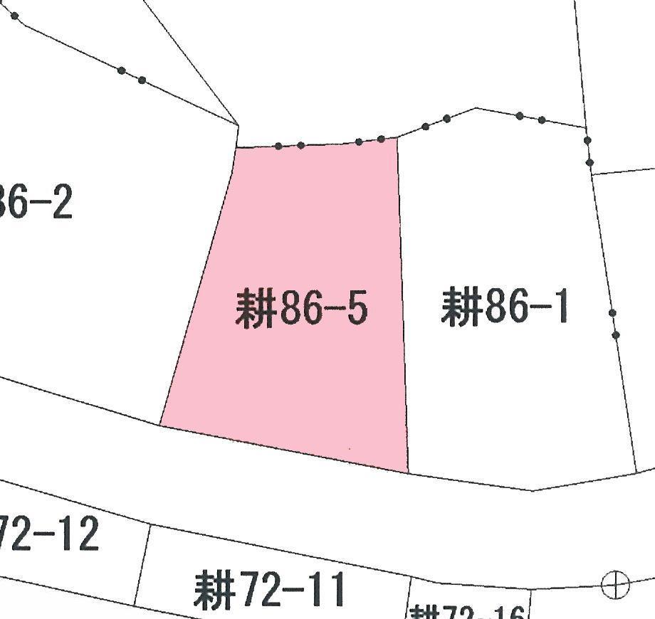 土地価格744万円、土地面積123m<sup>2</sup>