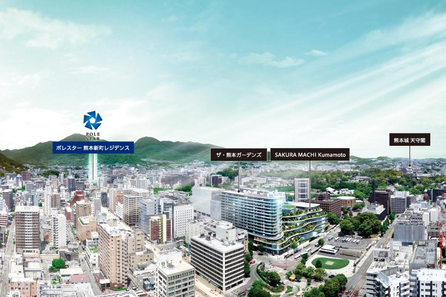 ポレスター熊本新町レジデンス(ポレスター熊本新町レジデンス 熊本県熊本市中央区新町4画像)