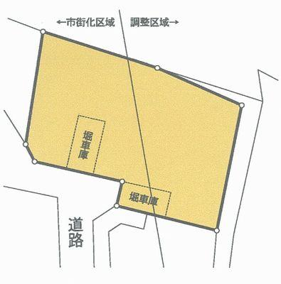 土地価格480万円、土地面積386.13m<sup>2</sup>