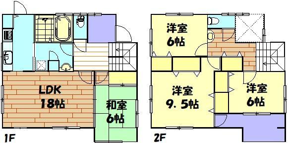 2950万円、4LDK、土地面積251.9m<sup>2</sup>、建物面積116.75m<sup>2</sup> 116.75m<sup>2</sup>4LDK☆吹抜もあり全部屋2面採光で明るい間取りです!
