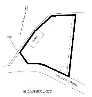土地価格480万円、土地面積559.03m<sup>2</sup> 土地面積559.03m<sup>2</sup>(169.10坪)