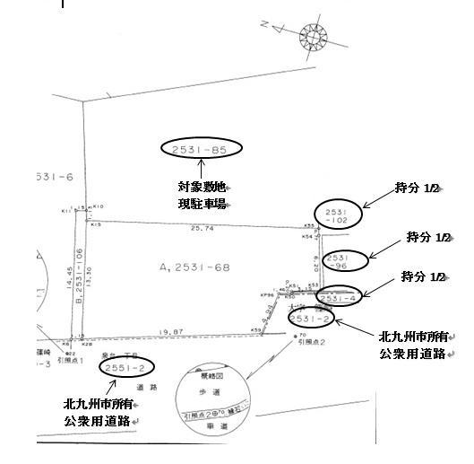 土地価格1980万円、土地面積439.87m<sup>2</sup>