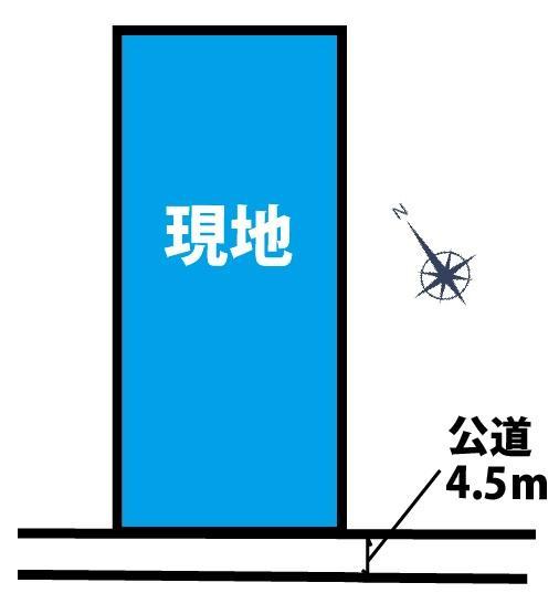 土地価格3460万円、土地面積1,907m<sup>2</sup>