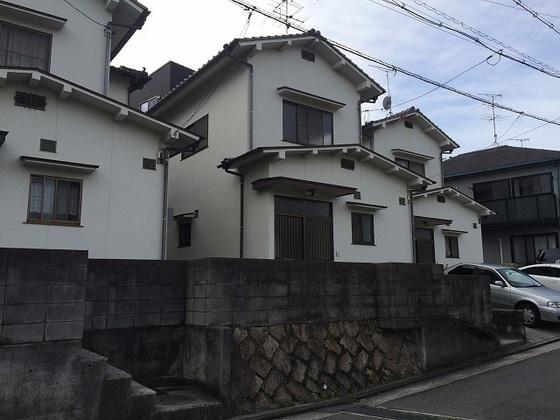 北川借家の外観
