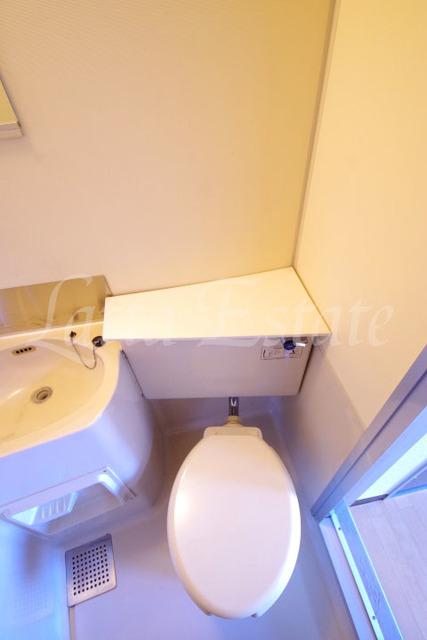 トイレ トイレ。