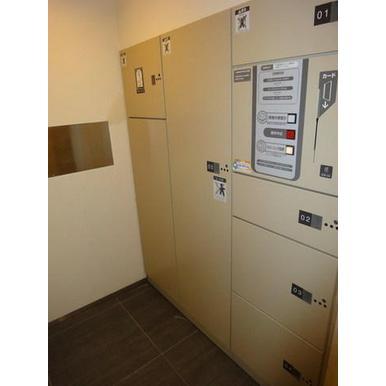 レジディア東松戸 3LDK/4階のその他画像 宅配ボックス