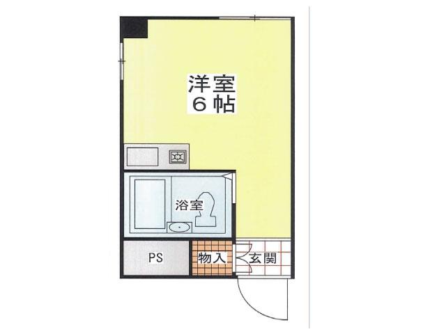 阪神本線 深江駅 5階建の間取り