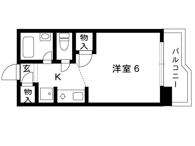 阪急神戸線 岡本駅 4階建の間取り