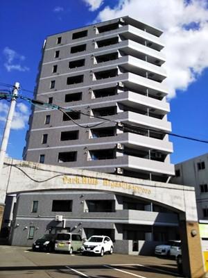 パークヒルズ東札幌の外観