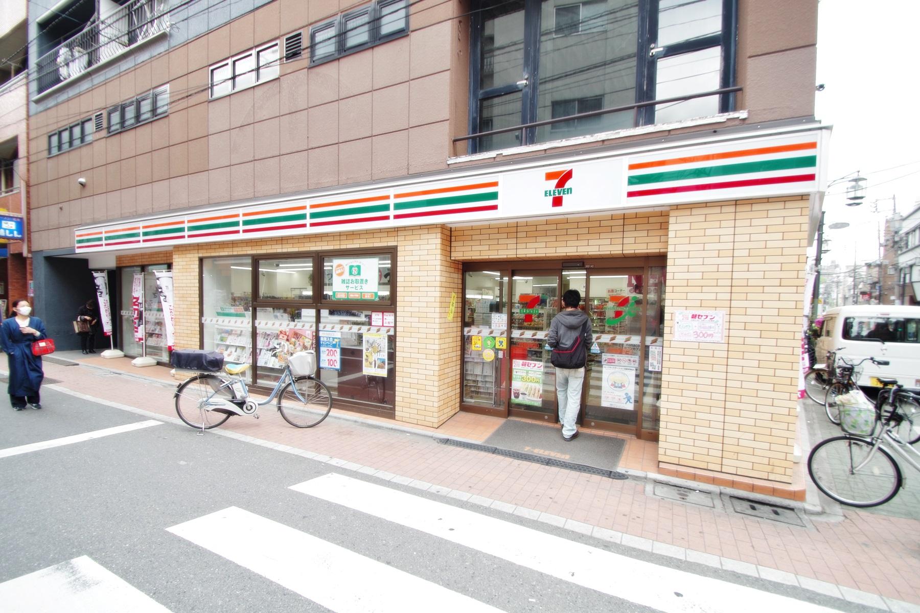 コンビニ セブンイレブン板橋大谷口北町店(コンビニ)まで118m