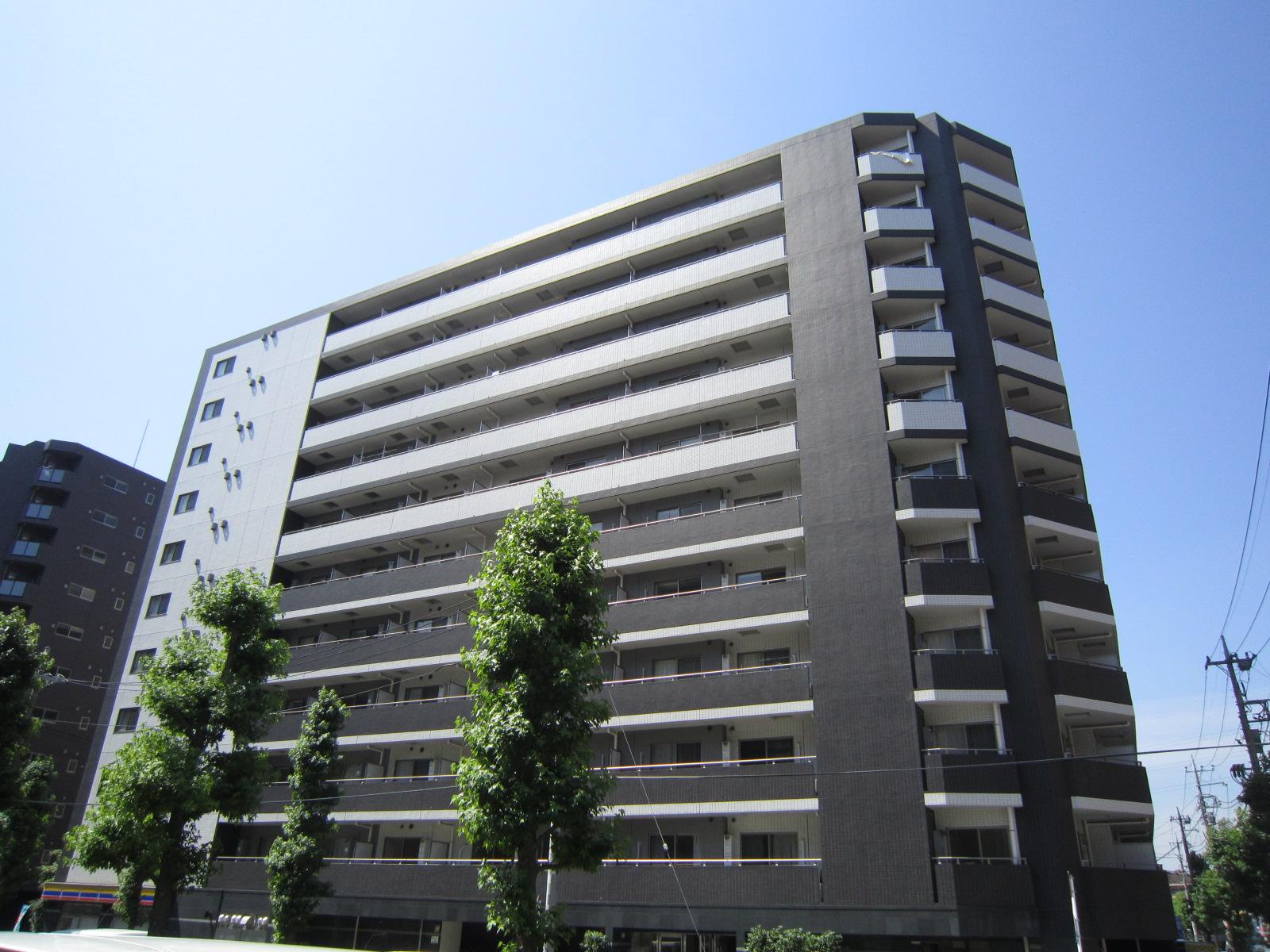 ジーコンフォートウエスト新横浜の外観