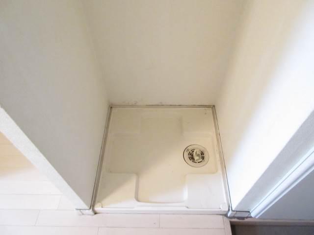その他部屋・スペース 灰が降っても大丈夫な室内洗濯機^^v
