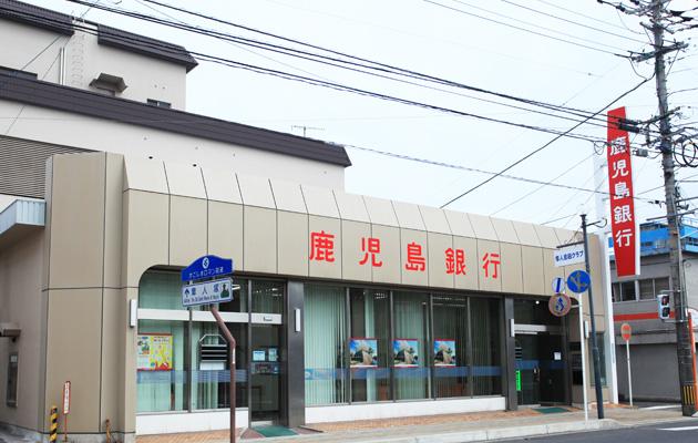 銀行 鹿児島銀行唐湊出張所(銀行)まで422m