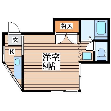 コートハウス萩野町の間取り