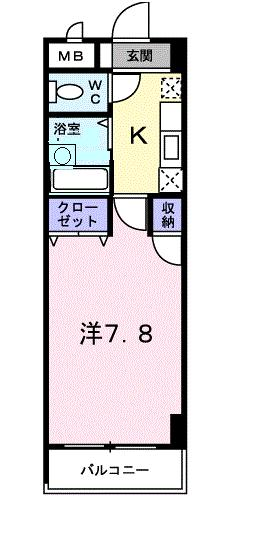 stable北山の間取り