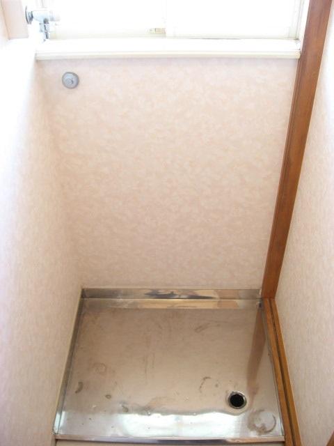 その他設備 室内洗濯機置場です!