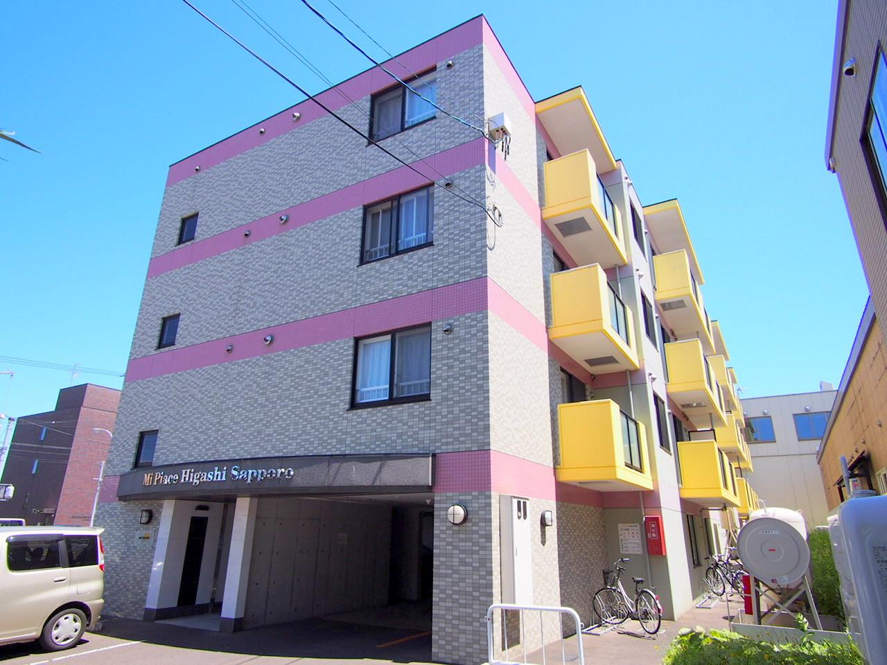 ミピアーチェ東札幌の外観