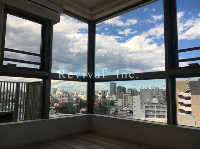 眺望 ベッドルームからの眺望も抜けております