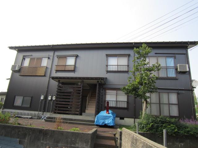 折田アパートの外観
