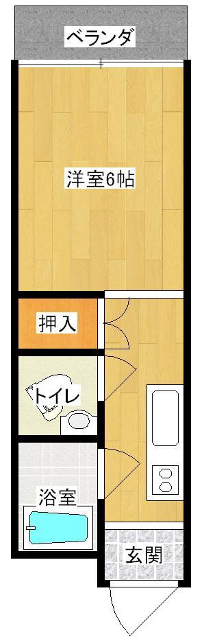 カーサ大牟田駅西の間取り