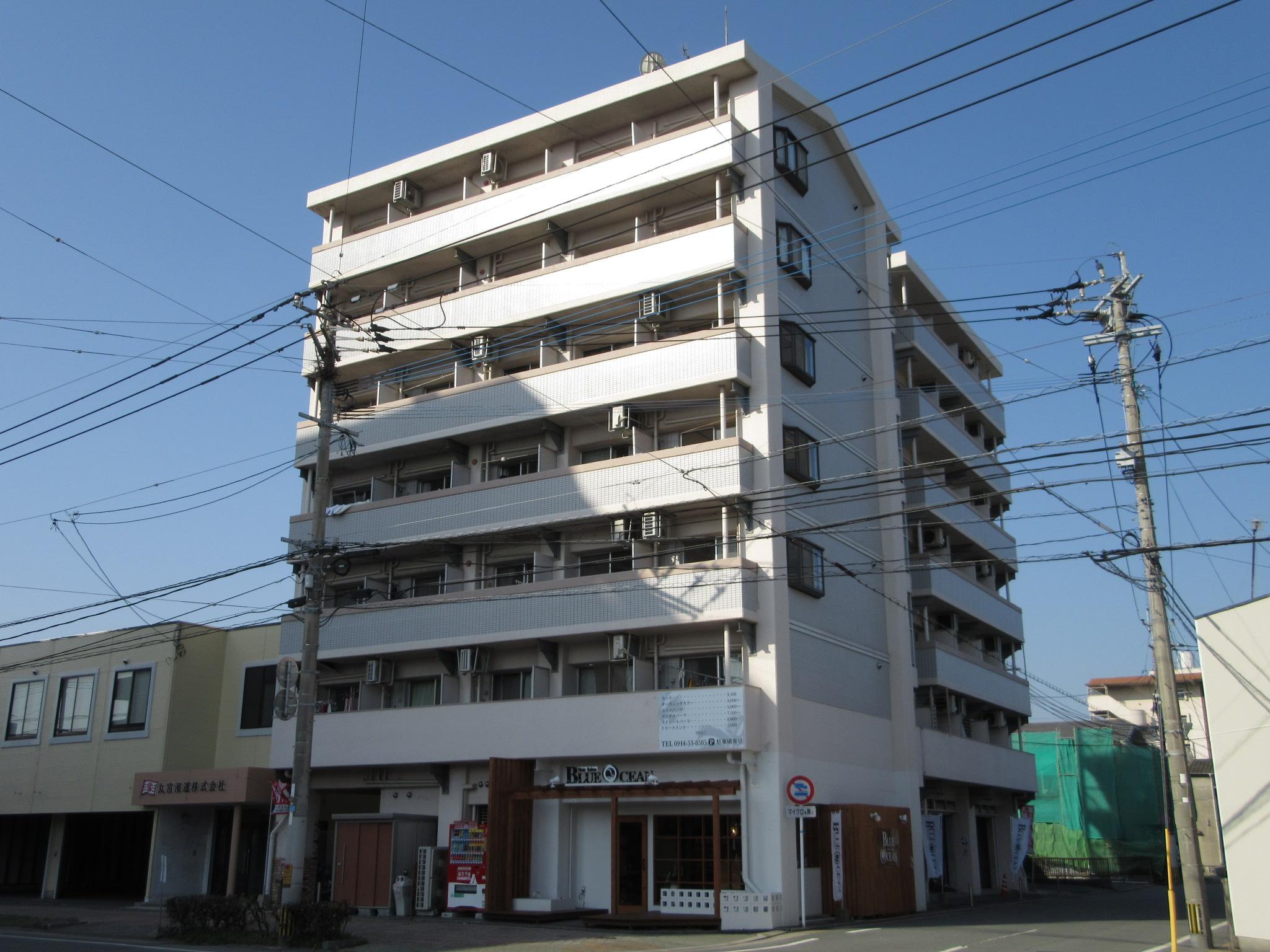 カーサ大牟田駅西の外観