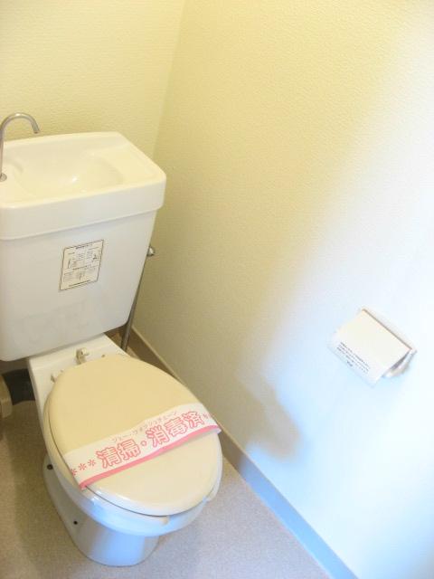 トイレ 手洗いタンク付きです!