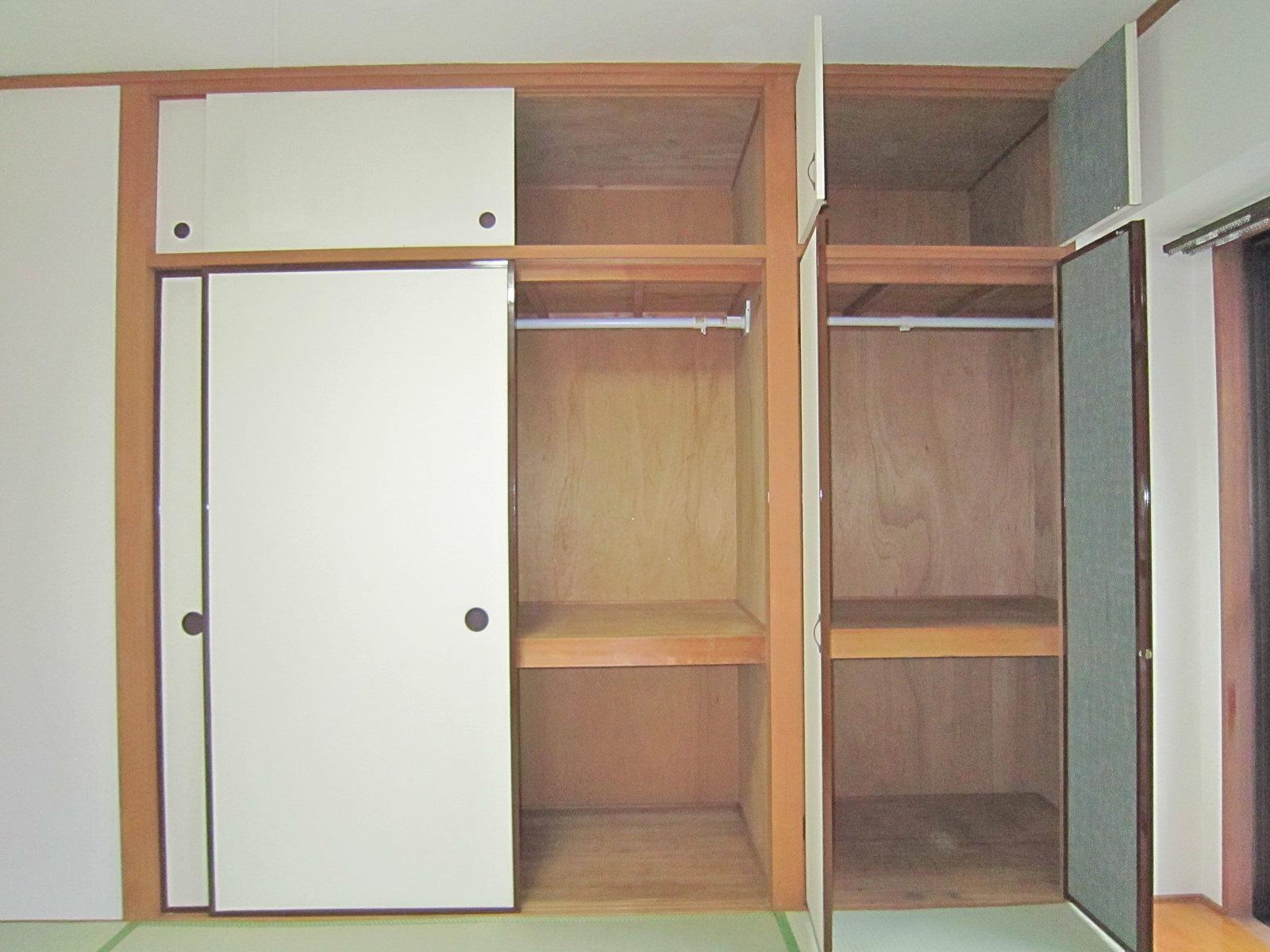 収納 和室収納(開けた時)