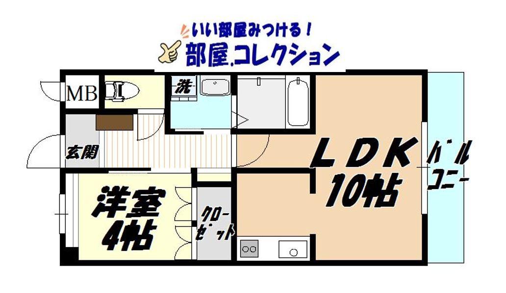 COUNTRY HOUSE YOSHIHOの間取り