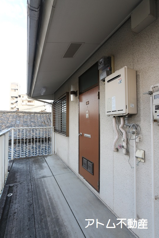 エントランス こちらが、玄関です。