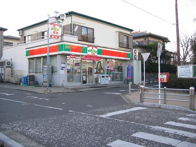 コンビニ サンクス六会店(コンビニ)まで452m