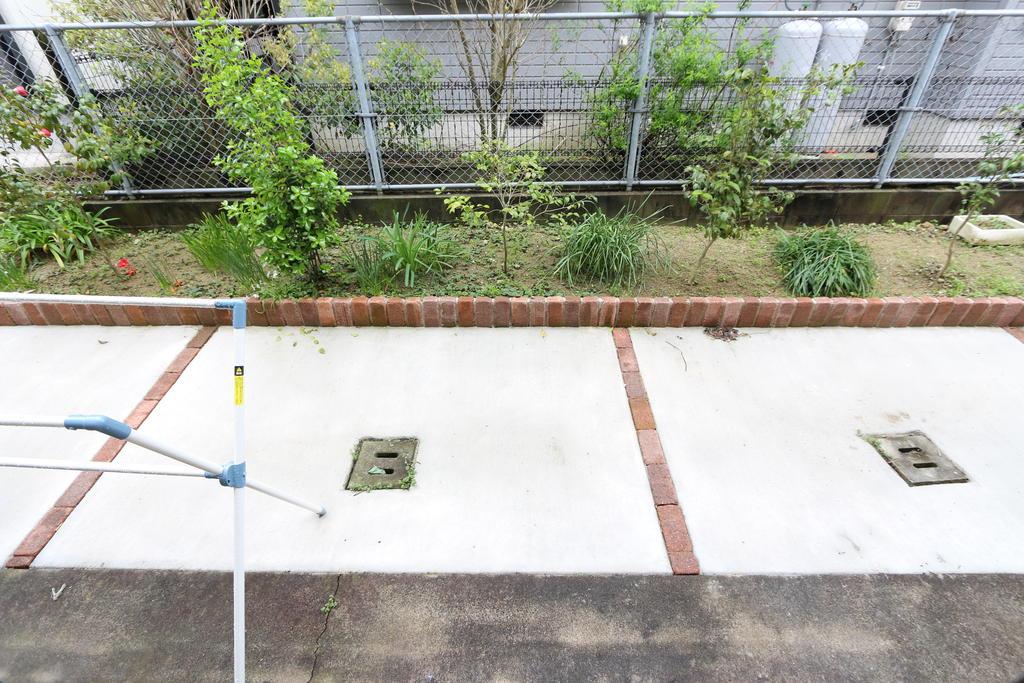庭 1階は庭つきです。