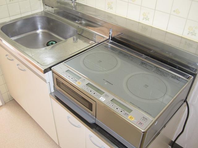 キッチン IH2口