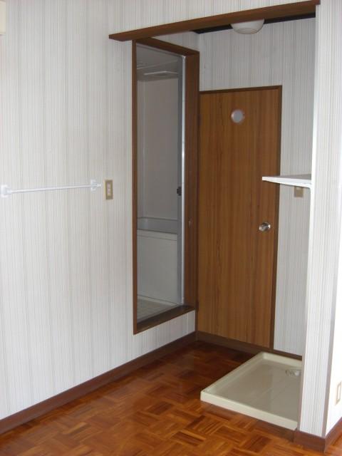 その他部屋・スペース 室内洗濯機置き場です