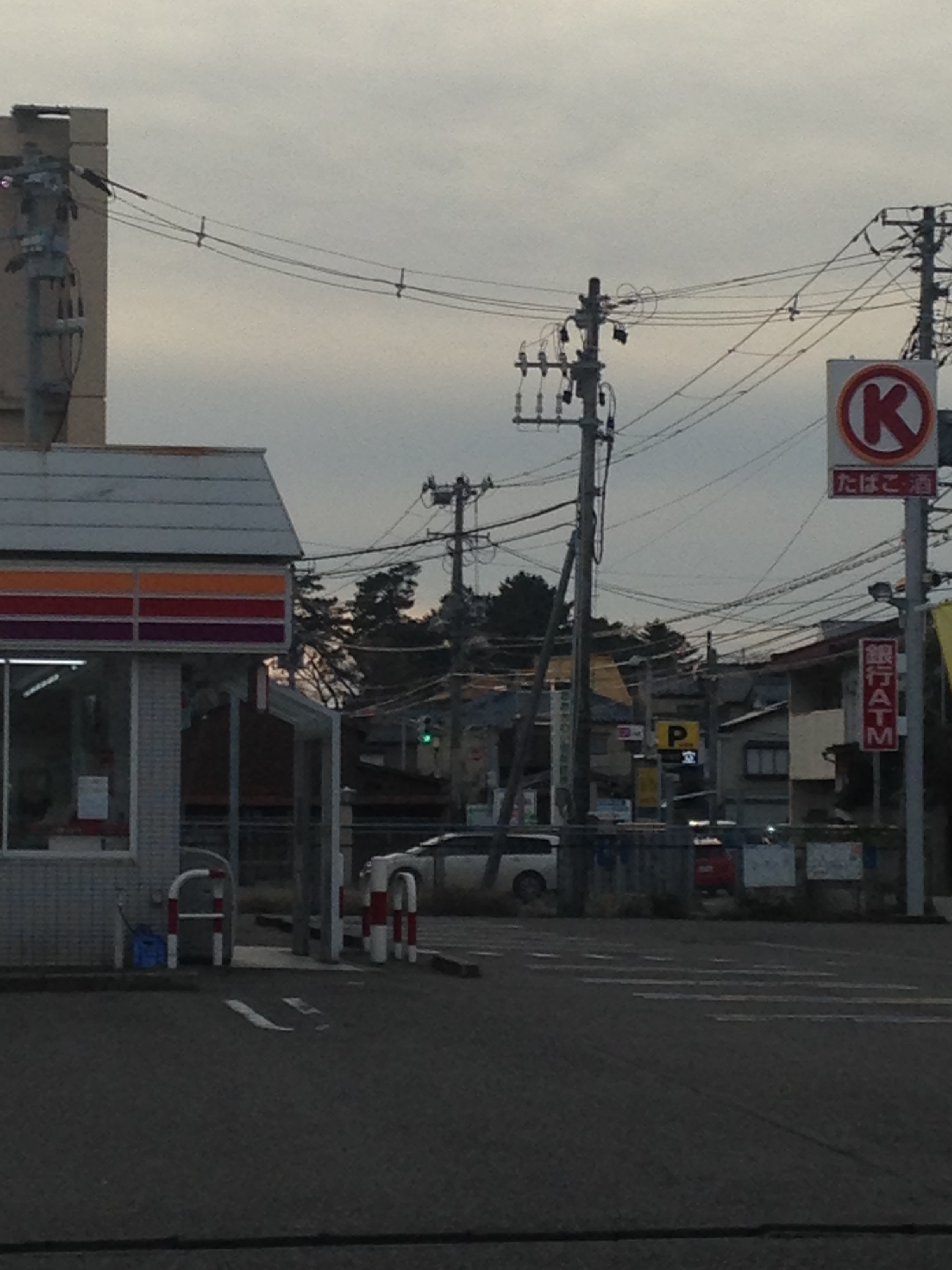 コンビニ サークルK新潟坂井東店(コンビニ)まで369m