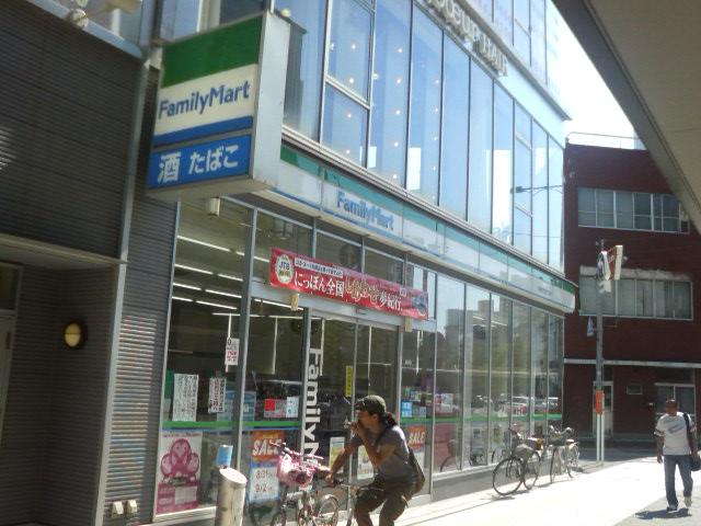コンビニ ファミリーマート新潟万代四丁目店(コンビニ)まで245m