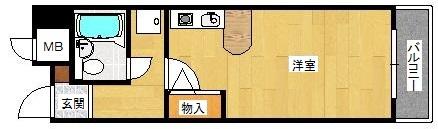 ダイアパレス塚本弐番館の間取り