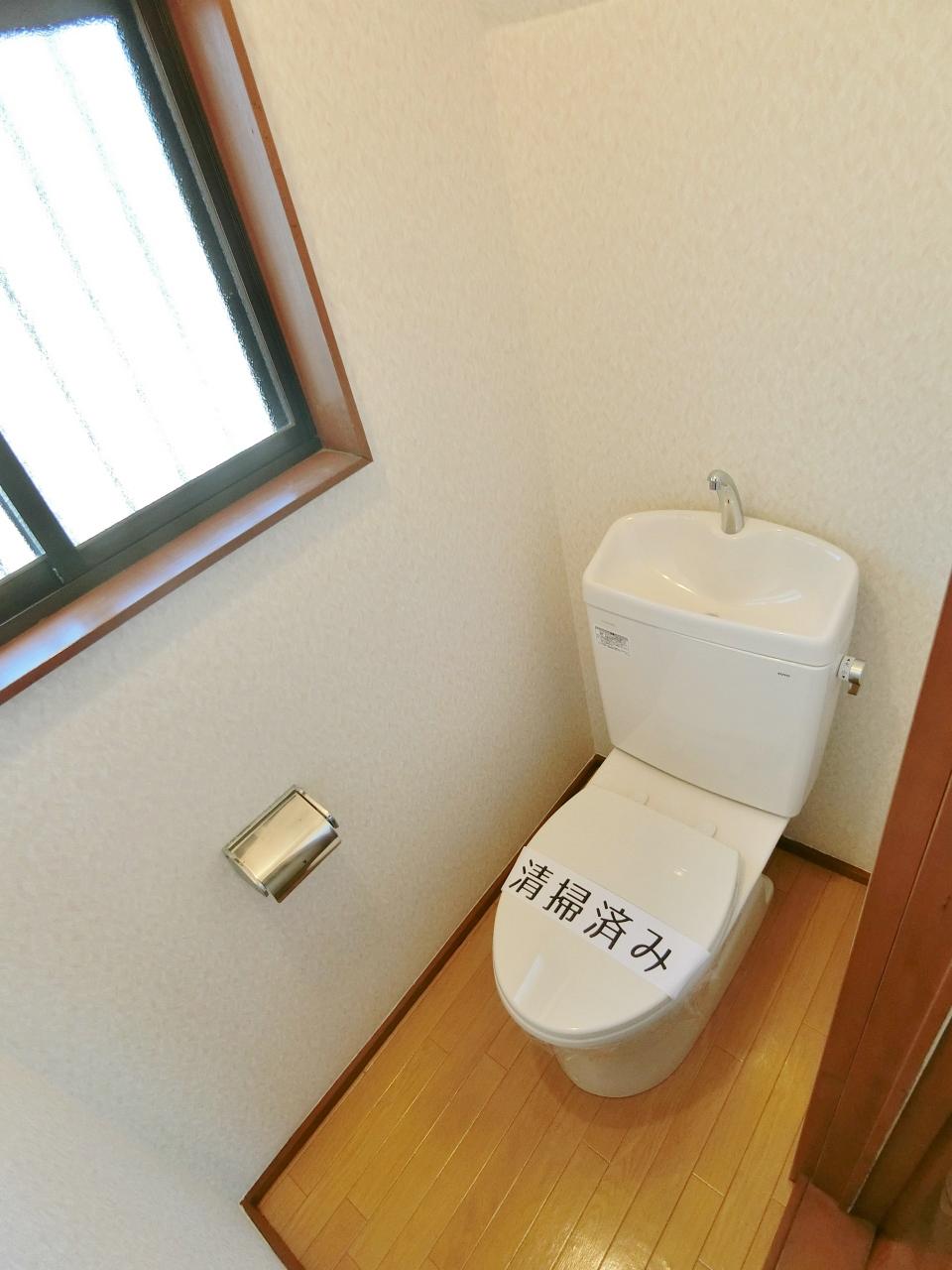トイレ 洋式水洗トイレになります♪♪♪