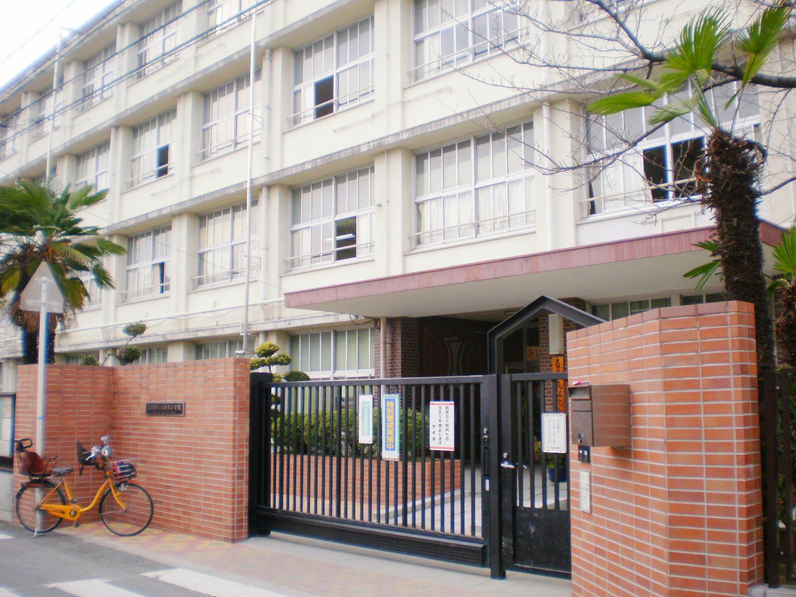 小学校 大阪市立瓜破北小学校(小学校)まで419m