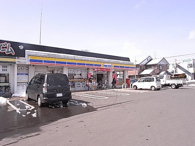 コンビニ ミニストップ宮城船岡中央店(コンビニ)まで580m
