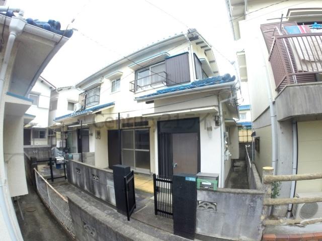 小林3丁目林2戸1貸家の外観