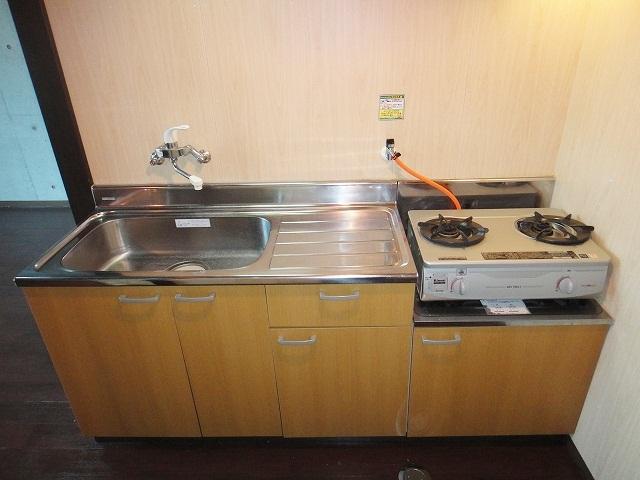キッチン 調理スペース有ります!