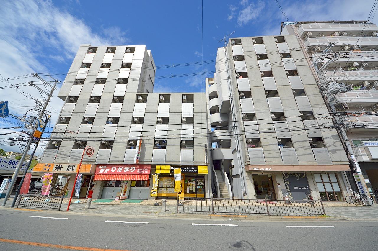 宮之阪ハイツ参番館の外観