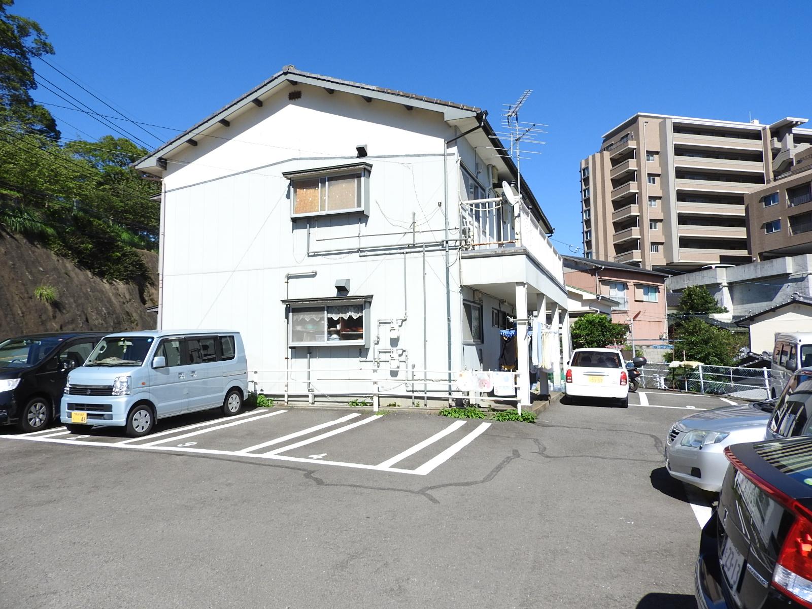 山田アパートの外観