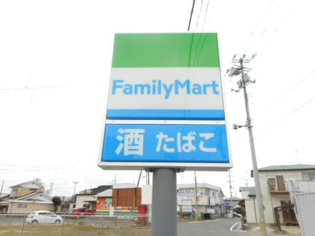 コンビニ ファミリーマート西中田六丁目店(コンビニ)まで201m