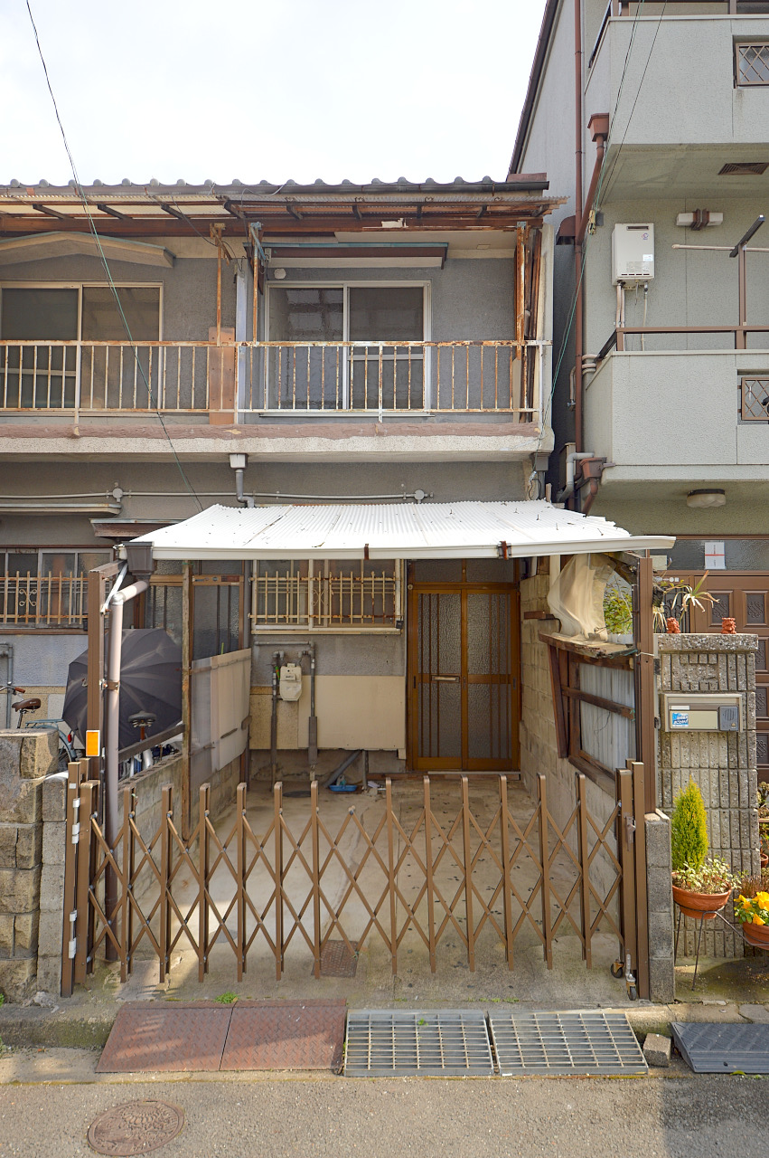 宮之阪5丁目テラスハウスの外観