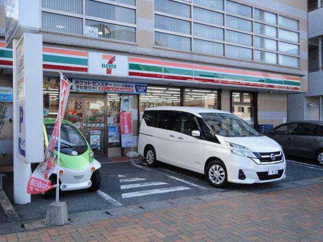 コンビニ セブンイレブン八幡中央町店(コンビニ)まで318m