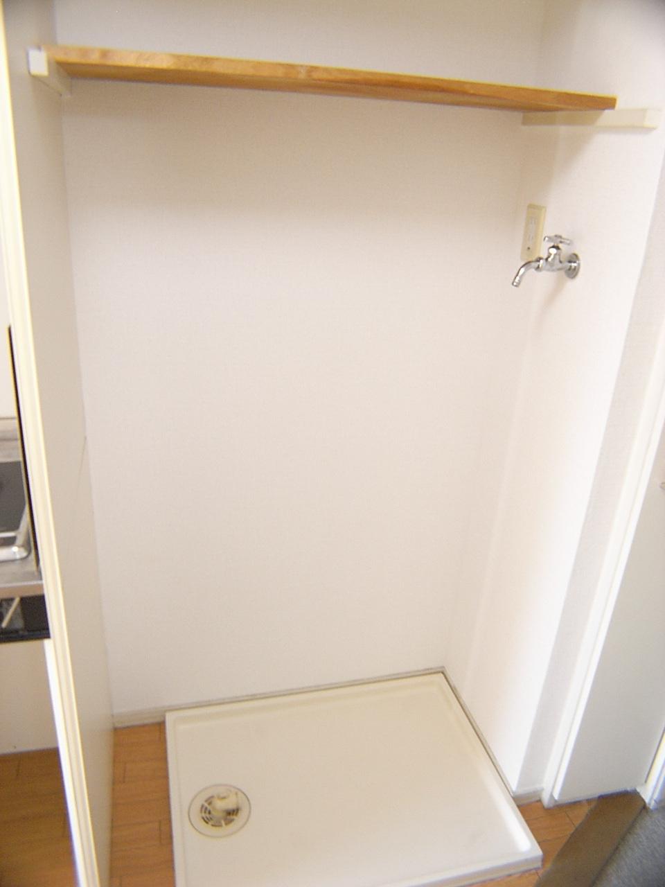 その他 室内洗濯機置場